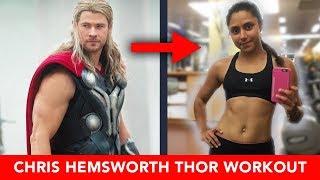 We Tried Chris Hemsworth