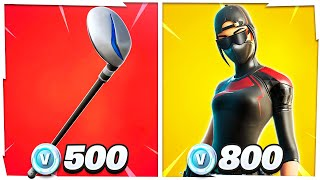 10 Sweaty Fortnite Items That Are Affordable! (Cheap)