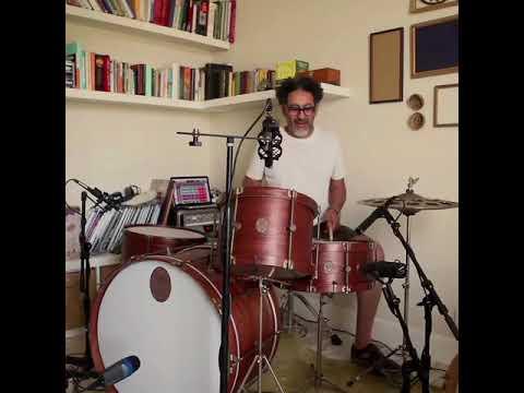 A&F Drum Co. Mahogany Club Kit w/Mahogany Hoops
