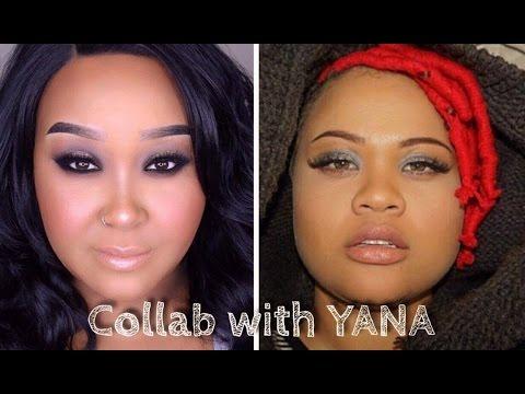 Sassy Dark Eyes & Neutral Lips | Collab With YANA | MakeupByNamaisa