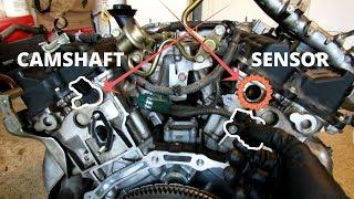 Infiniti G35 Crankshaft and Camshaft Position Sensor Code