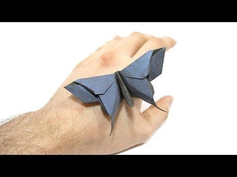 Origami Alexander Swallowtail Butterfly tutorial (Michael Lafosse) 折り紙 蝶  Schmetterling  mariposa