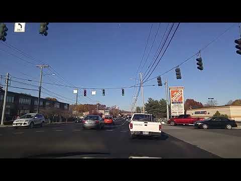 Driving from Hamden to Meriden,Connecticut