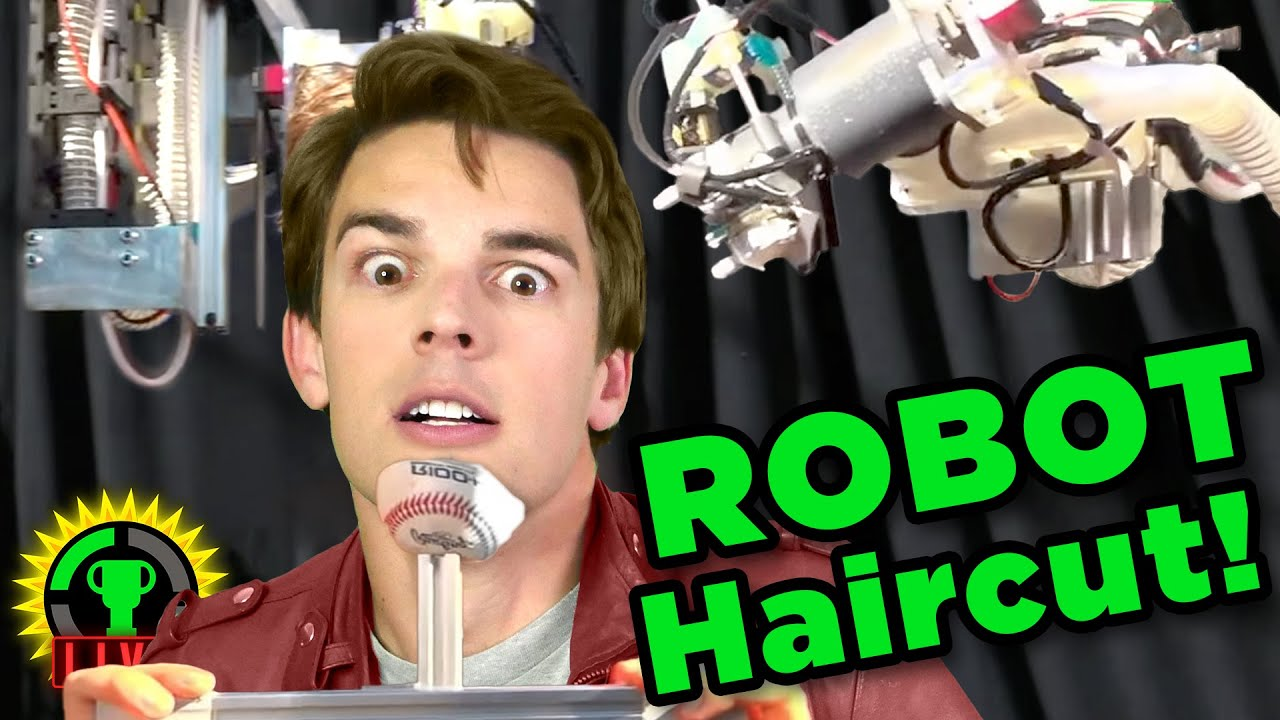 I Let A ROBOT Cut My Hair! ft. Stuff  Made Here (Game Theory $1,000,000 Challenge)
