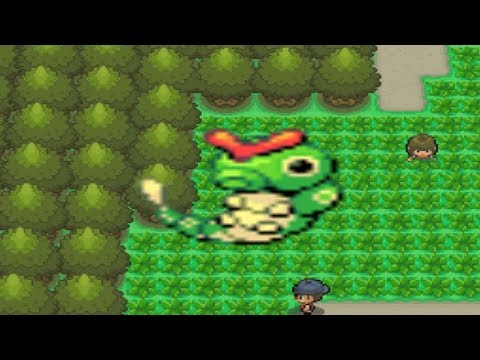 How to find Caterpie in Pokemon Diamond and Pearl