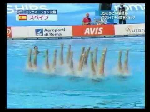 Led Zeppelin & Spanish Team Synchronized Swimming