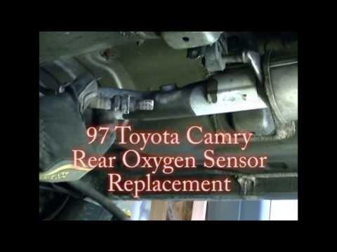 1997 Toyota Camry V6 rear (downstream) Oxygen (O2) Sensor Remove & Replace