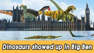 [EN] #95 Dinosaurs showed up in Big Ben, kids education, Dinosaur movie, CollectaㅣCoCosToy