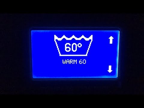 Electrolux Professional W455H : Warm 60°C