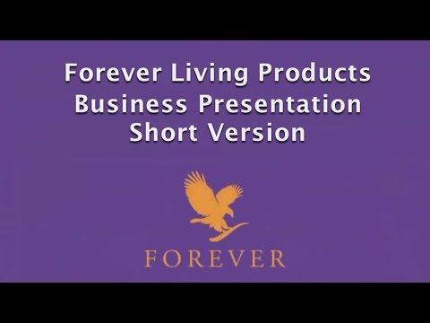 Forever Living Business Presentatoin Short Concise Version