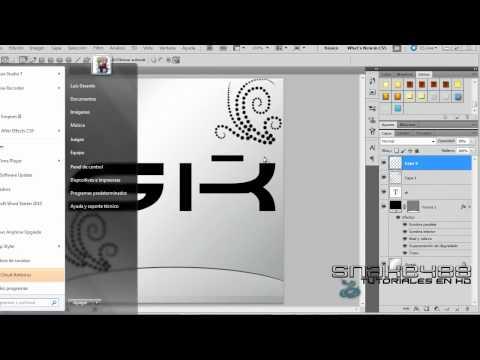 Como  hacer un logo Profesional  en photoshop cs5 // Clasico y elegante