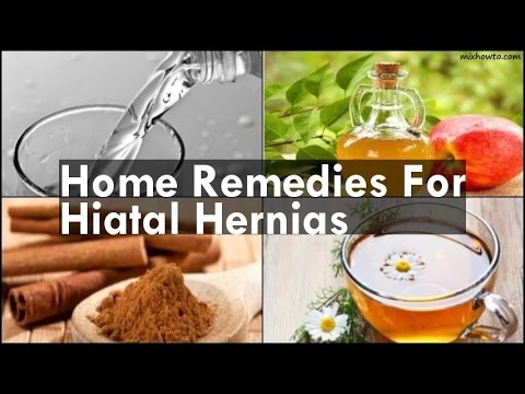Home Remedies For Hiatal Hernias