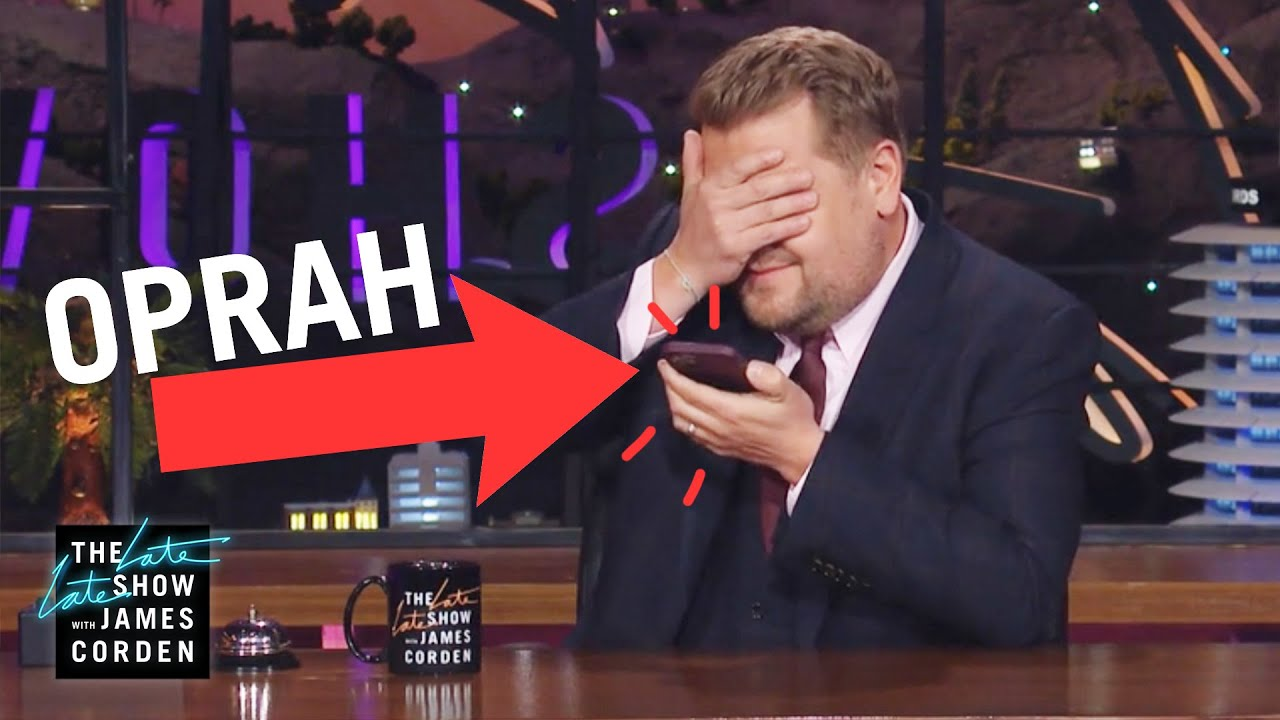 James Calls Oprah to Pitch a Big Idea (For Real)