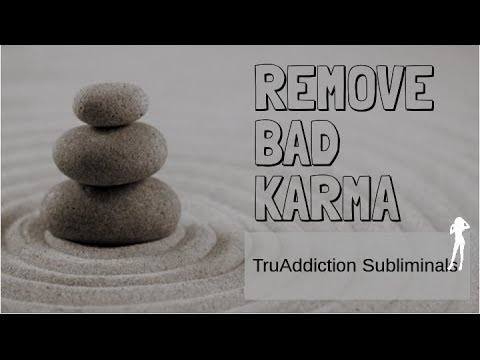 Remove ALL NEGATIVE KARMA from your life!《Alpha waves, binaural beats》~TruAddiction Subliminals💋