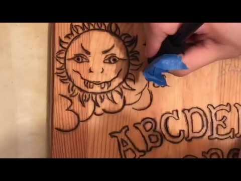 Handmade Ouija Board