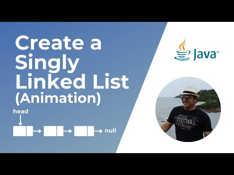 How to create a linked list in Java ?