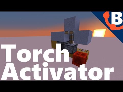 Hidden Torch Key Activator | Redstone 1.11.2