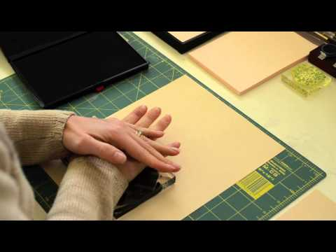 How to Stamp with a XL Stamp Pad