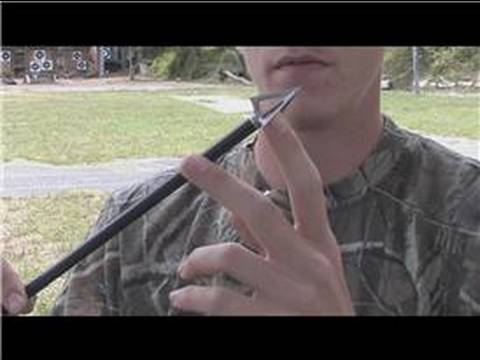 Bow Hunting : Types of Arrowheads