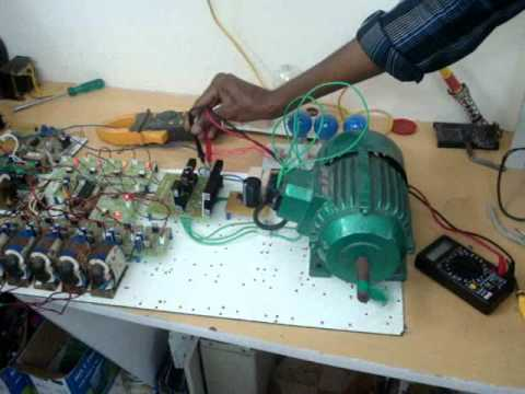 3 Phase Induction Motor speed Control VFD