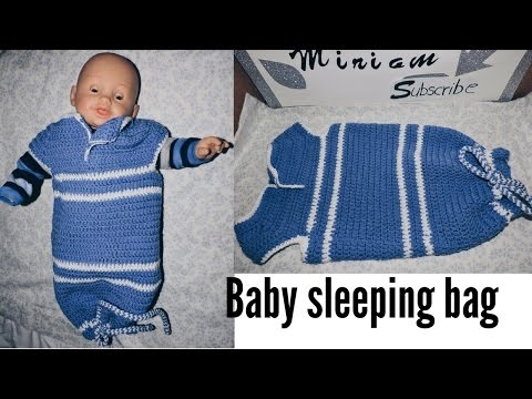 How to make this beautiful BABY Sleeping Bag