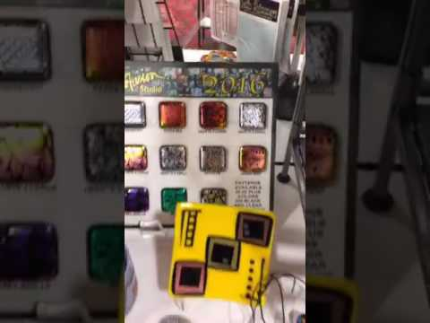 2016 Glass Craft & Bead Expo   D&L Art Glass Supply booth