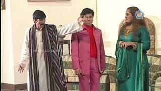 Best of Tariq Teddy, Sajan Abbas and Asraf Rahi New Pakistani Stage Drama Full Comedy Clip