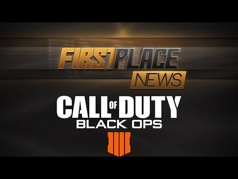 First Place News Ep 1 5/21/18 - Will Black Ops IIII Be the End of Call of Duty?