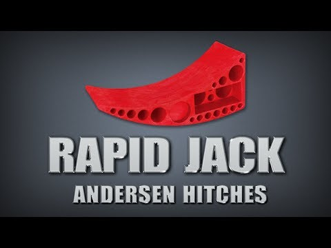 Amazing Rapid Jack from Andersen Hitches