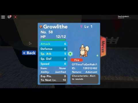 Hidden Ability Growlithe!|Pokemon Brick Bronze