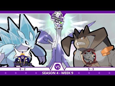 MAGNET PULL TRAPPED!! | Minnesota Vikavolts VS Rochester Rhydons NPA S4 W9  | Pokemon Ultra S/M