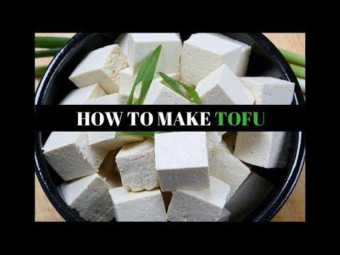 How to Make Tofu at home (Hindi)