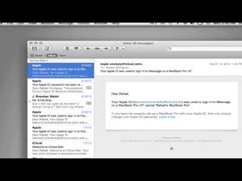 How to Move an Apple Mail Accounts Folder to an External Hard Drive : Using Apple Products
