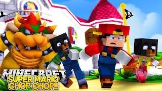 Minecraft Adventure - SUPER MARIO CHOP CHOP - DONUT GO