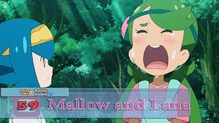 Lana and Mallow, the Bittersweet Memories! - Sun and Moon Ep 59