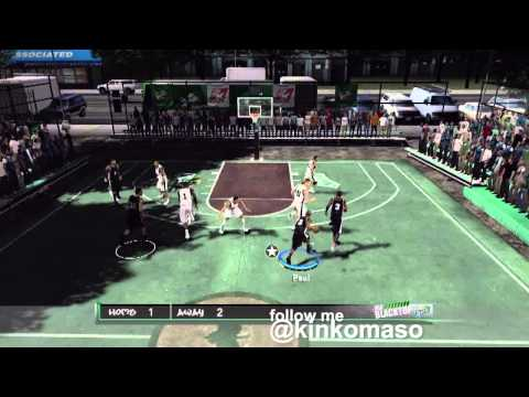 NBA 2K12 BLACKTOP
