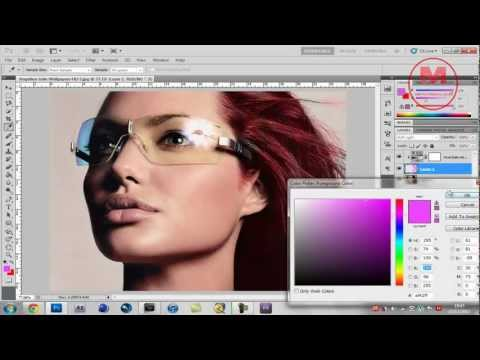 How To Change Hair Colour Using Photoshop CS5