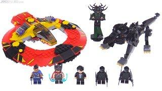 LEGO Marvel Thor: Ragnarok Ultimate Battle for Asgard review! 76084