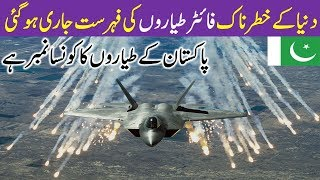 Top Ten Best Fighter Air Crafts \ Jets in the World with their Capabilities