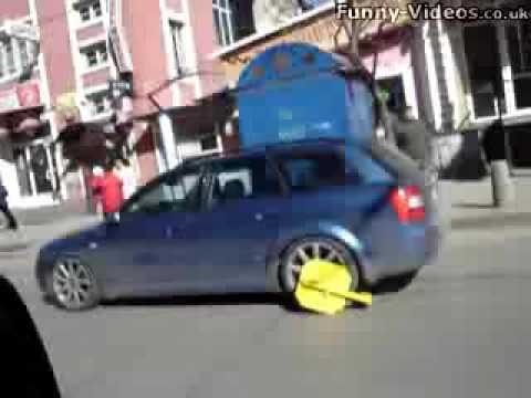 how to beat a wheel clamp !!