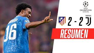 Atlético de Madrid - Juventus [2-2] | GOLES | Grupo D | UEFA Champions League