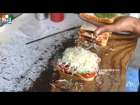 BOMBAY SPECIAL MINI SANDWICH | STREET FOODS IN INDIA | 2016 RECIPES