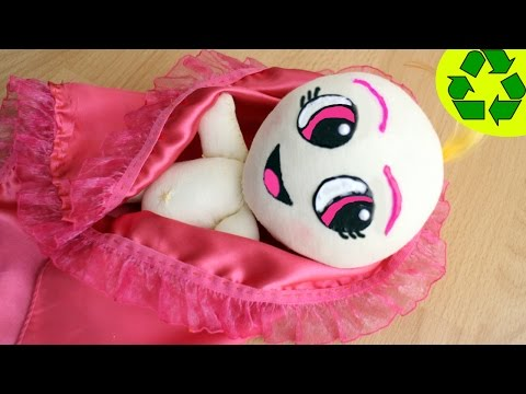 How to make a cloth doll baby- Doll Crafts - simplekidscrafts