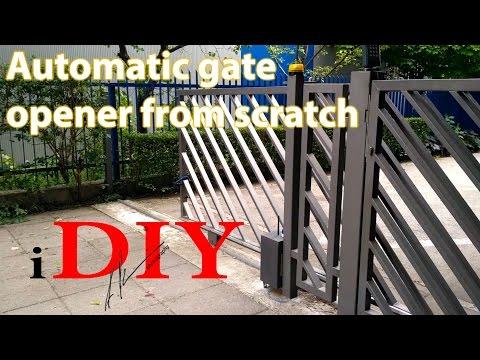 DIY gate remote opener for under 50$