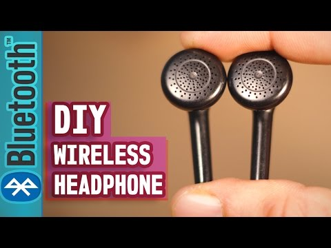 How to make your Headphone Wireless(Even old Broken Headphone)-DIY Life Hack Tutorial