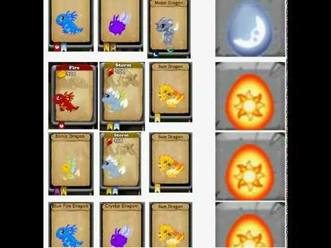 Dragonvale - Guide to breed a Sun and Moon Dragon