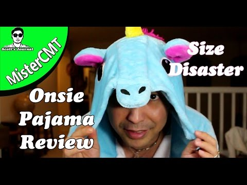 ONESIE  Pajama Unboxing and Review - Size Disaster (REVIEW)