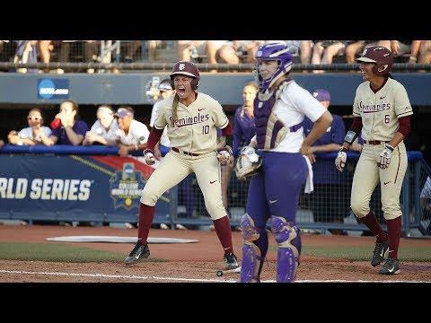 Highlights: Washington softball can't halt Florida State, eliminated in Women's College World...