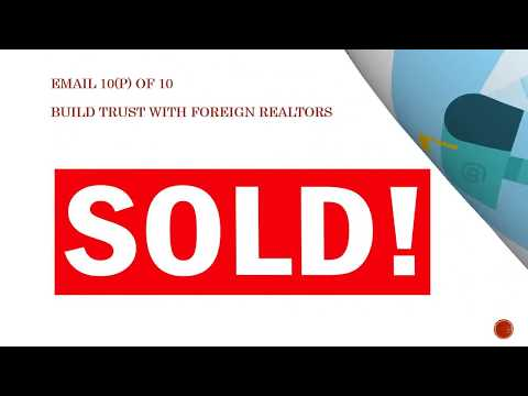 E Course: Sell Real Estate to Foreign Buyers