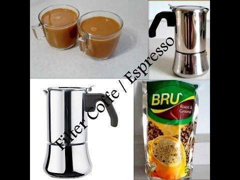 Filter coffee / Espresso